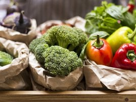 Photos  Search by image Close up of fresh and juicy vegetables from garden bed stock photo