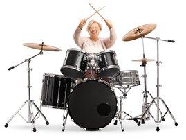 Gogo drummer