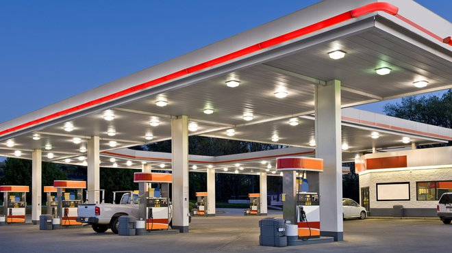 petrol gas station garage generic