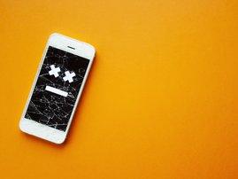 Broken phone dead