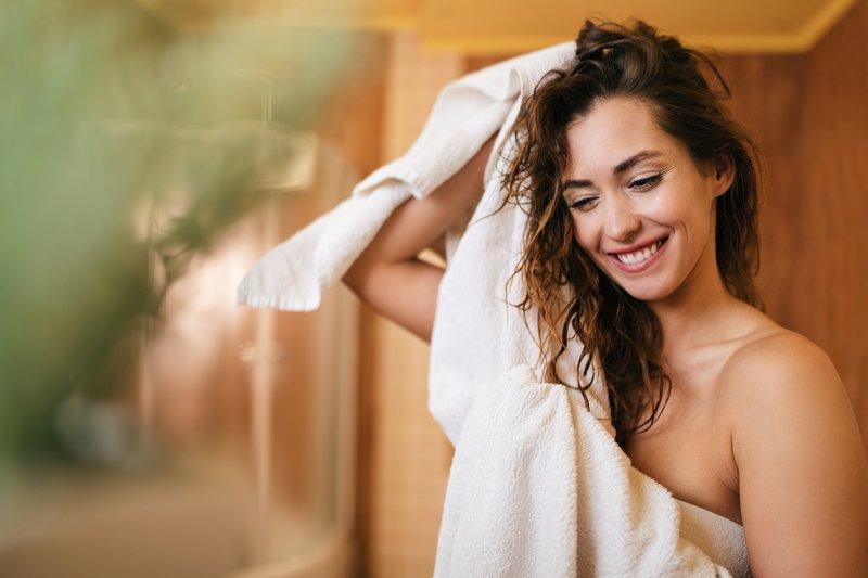 Shower towels