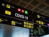 COVID-19 airport travel generic