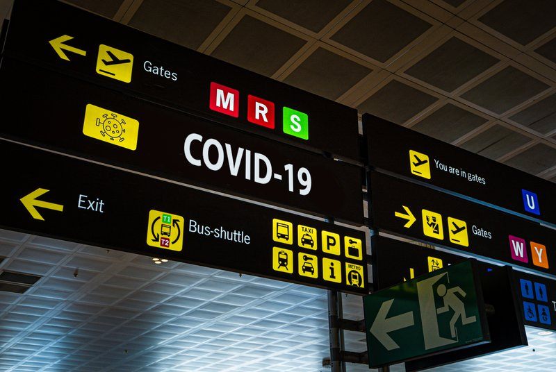 COVID-19 airport travel generic