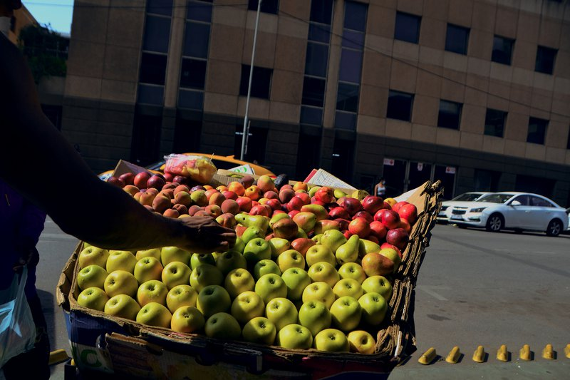 Community comes together to help fruit hawker