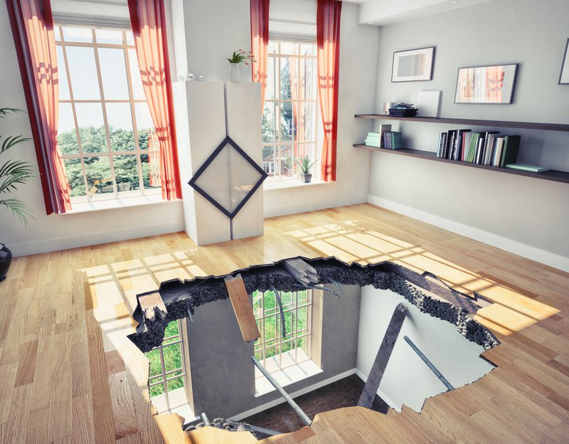 reception venue floor collapses