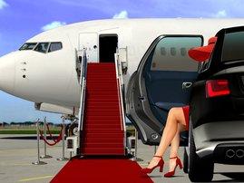 Millionaire woman