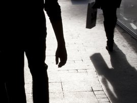 Blurry silhouette and shadows / iStock