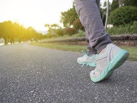 Brisk walking / iStock