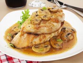 Chicken marsala / iStock