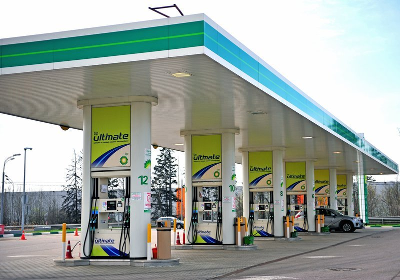 BP Petrol Station has opened up a wine store at one of their branches