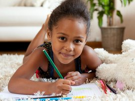 Creative ways to decorate your home with your child's drawings