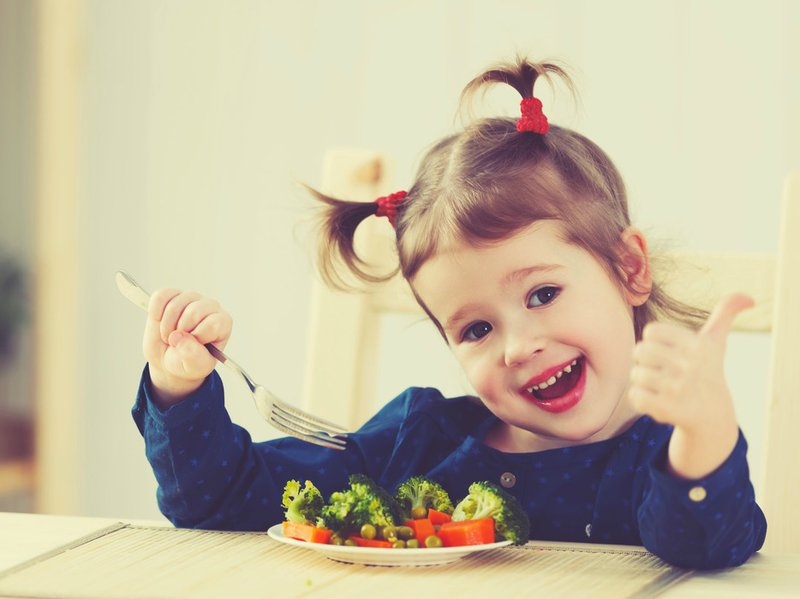 Can a vegetarian/vegan child be healthy?