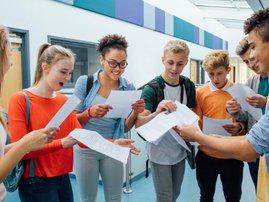 Pupils exam results