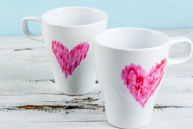 how to make your own valentine s day mugs