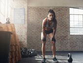 Kettlebell trainign workout fitness