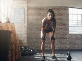 Kettlebell trainign workout fitness