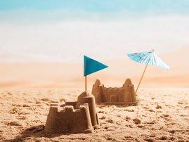 coke - sandcastle