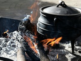 Traditional food South Africa