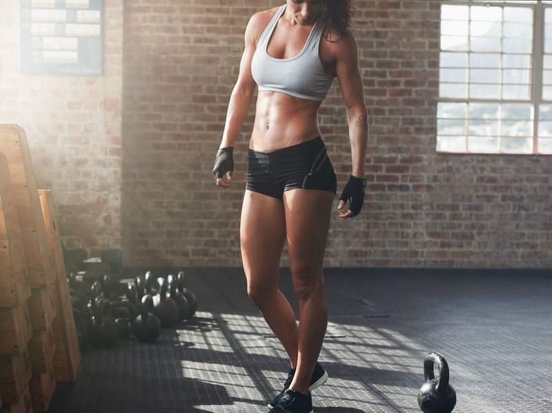 Woman exercise workout fitness