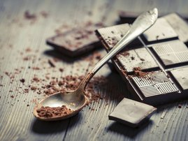 Eat dark chocolate for healthy skin