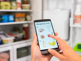 Track your monthly grocery spending