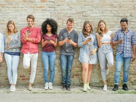 Technology junkie social media addict