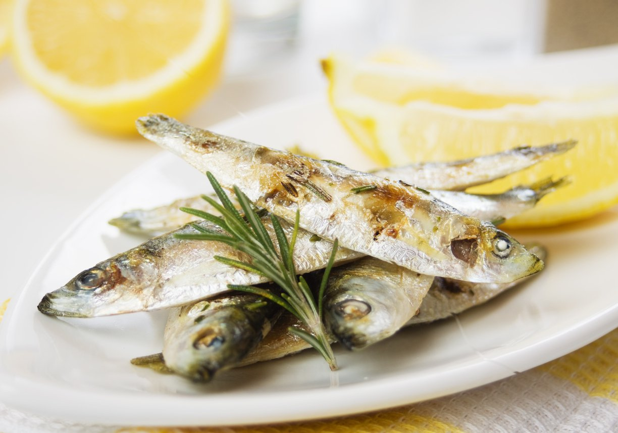 Eat sardines for healthy skin