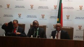 Michael Masutha ICC press briefing