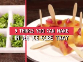 Five things you can make in an ice-cube tray
