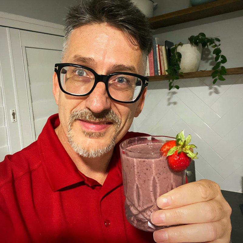 Darren's Berry Springer Show smoothie