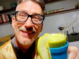Darren's Ekvis Parsley smoothie
