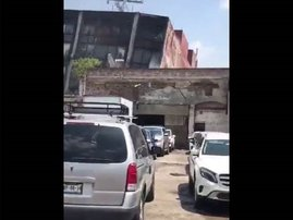 image earthquake ripping through mexico