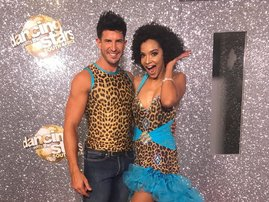 image liesl laurie dancing with curly hair