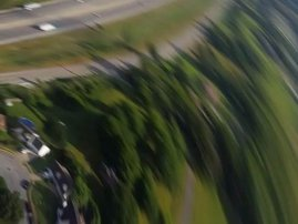 image man drops phone from plane