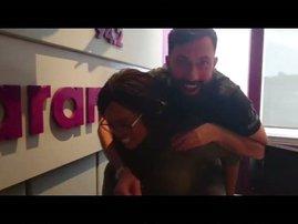 image martin and tumi piggyback