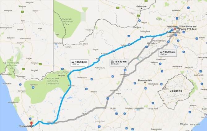 image route to boere GMA