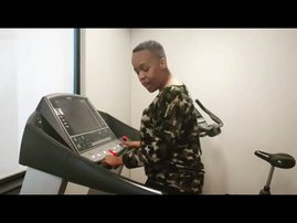 image tumi on treadmill