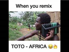 image video tot africa remix