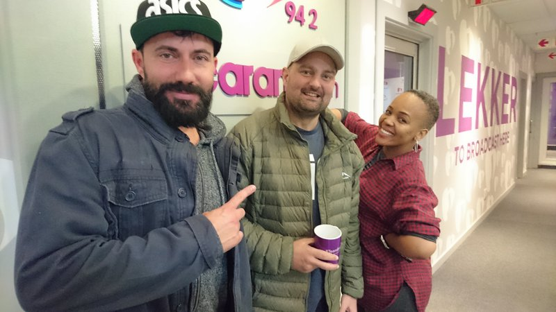 image with tumi and martin radio raps