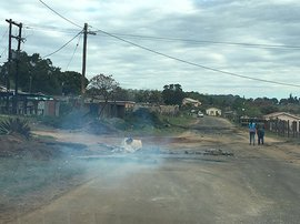 'A dangerous situation has developed at Inchanga': SACP