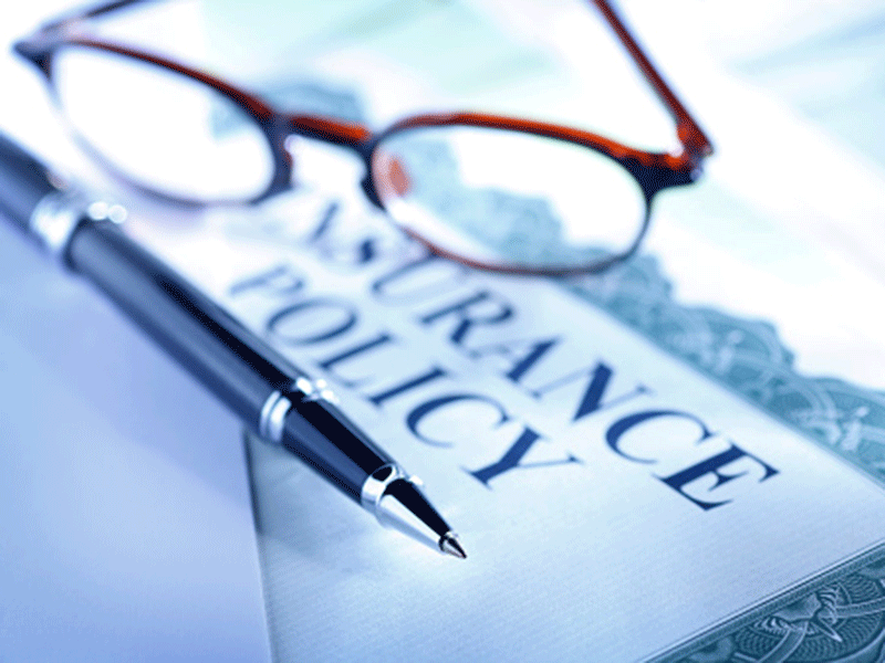 Insurance policy papers