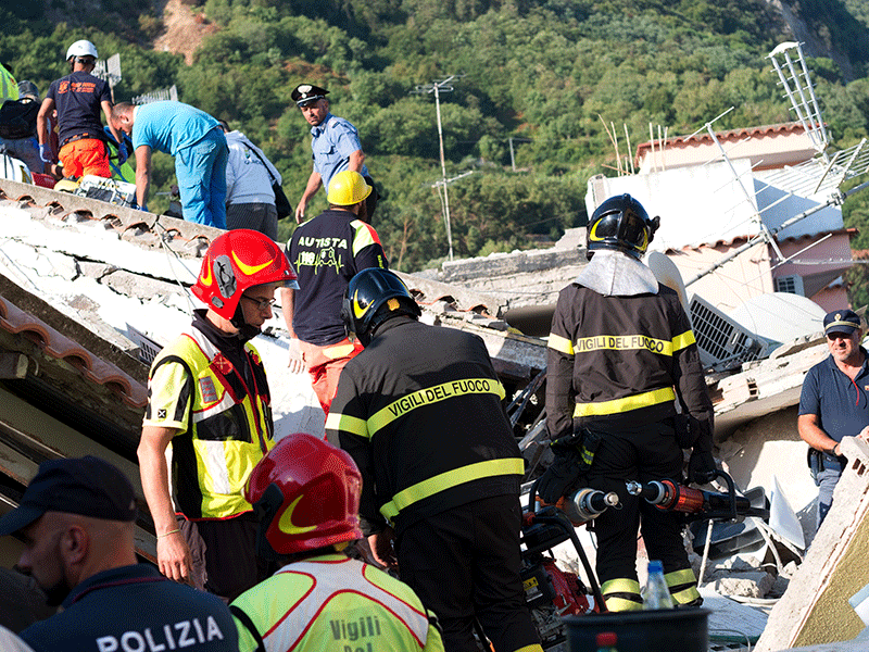 Baby found alive after Italy earthquake