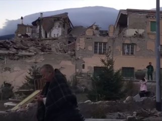 Italy Amatrice earthquake_video