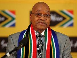 Jacob Zuma Portrait