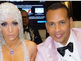 Jennifer Lopez and A-Rod