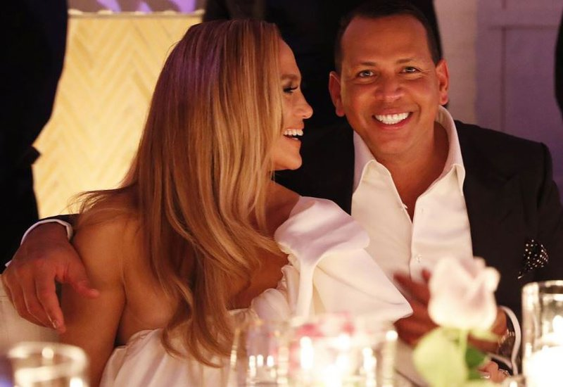 Jennifer Lopez and Alex 'A-Rod' Rodriguez