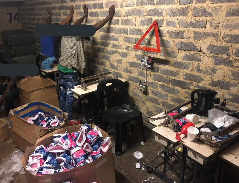 Pictures] Counterfeit goods seized in Jhb
