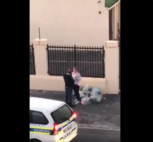 WC jogger arrest