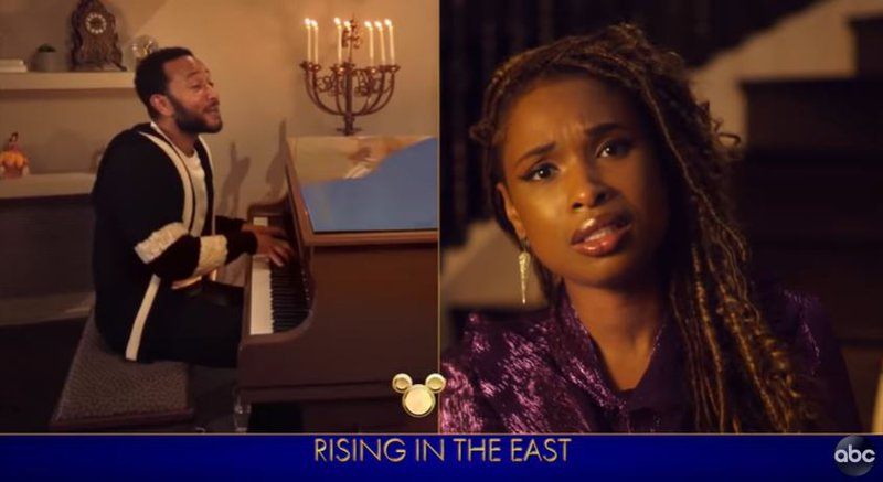 Jennifer Hudson And John Legend Cover Beauty And The Beast Theme Song