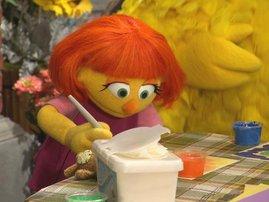 Sesame Street Julia